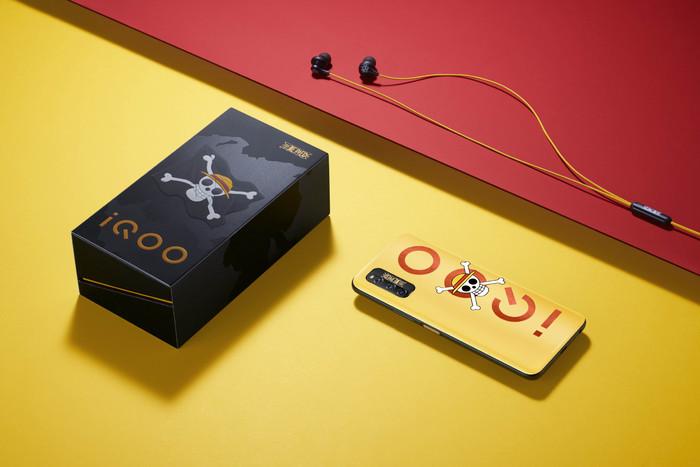 海贼王热血IP联名之作!iQOO Z1 5G性能先锋来袭